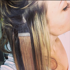 Extensions tape method